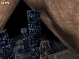 Tomb Raider 1, looking back at the carnage