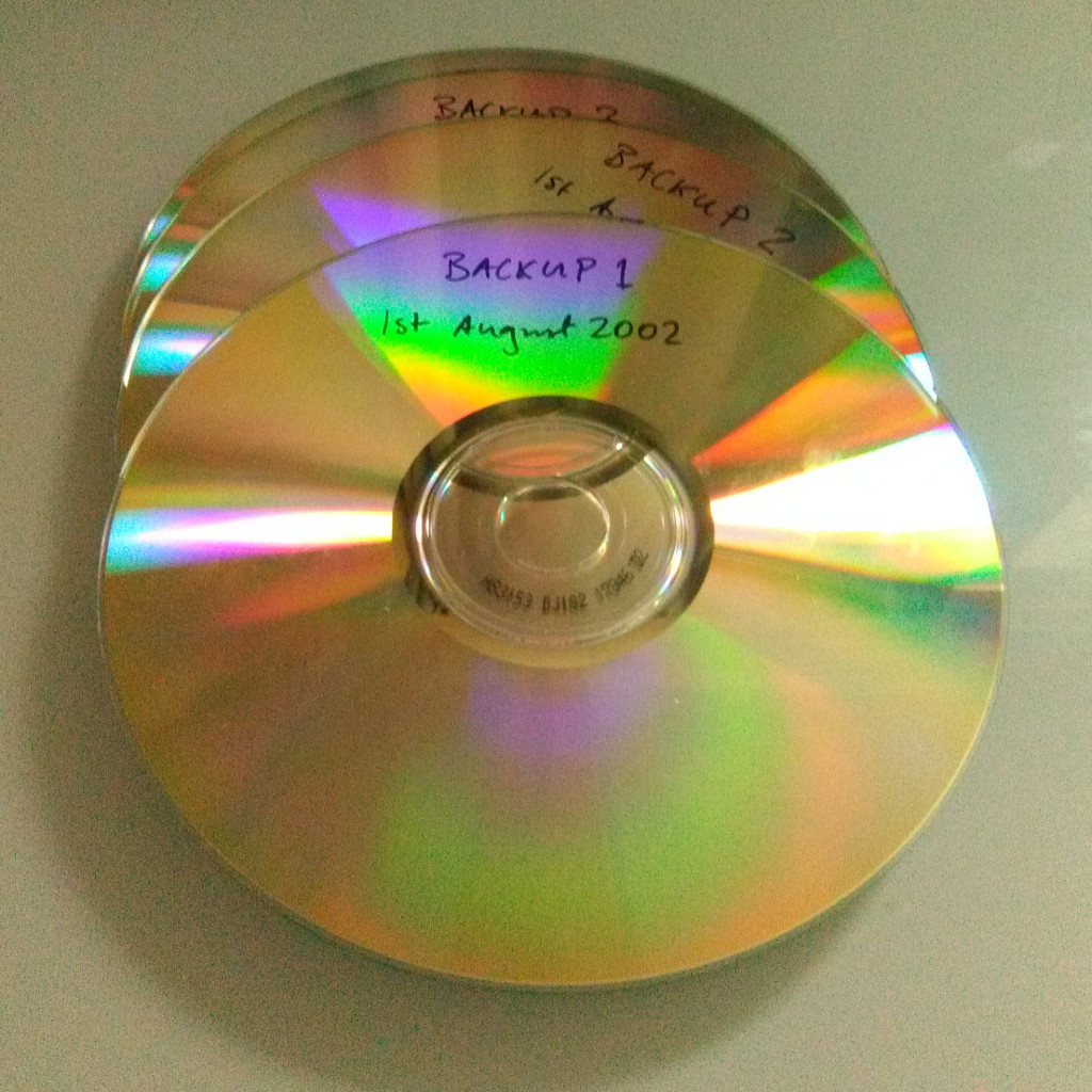 CD backup in 2002