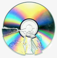 Broken CD image by omernos