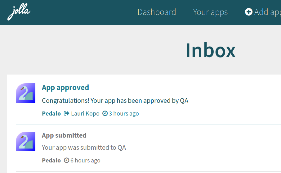 Pedalo is now approved!