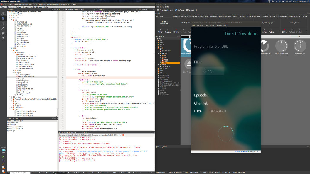 QT Creator IDE and QML-Live