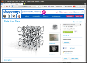 The Shapeways.com site